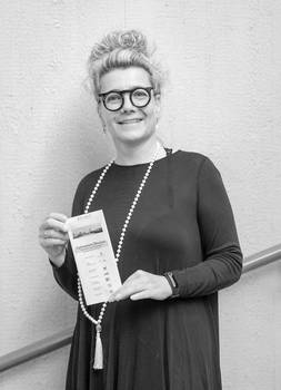 Frau Jörger, aufgenommen 2019